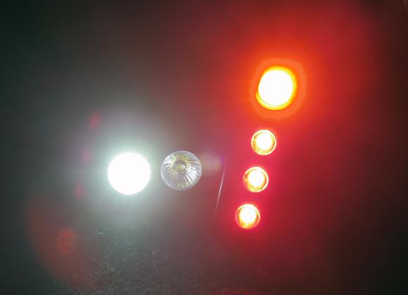 自転車用ライトは明るい方が良い