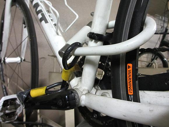 ロスバイクやロードバイクの盗難対策の基本