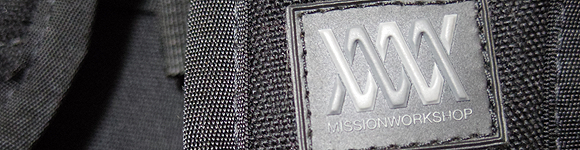 MISSION WORKSHOPの自転車用バッグ