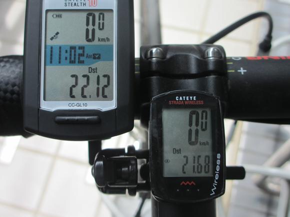 クロスバイクのescape airで出せるスピード
