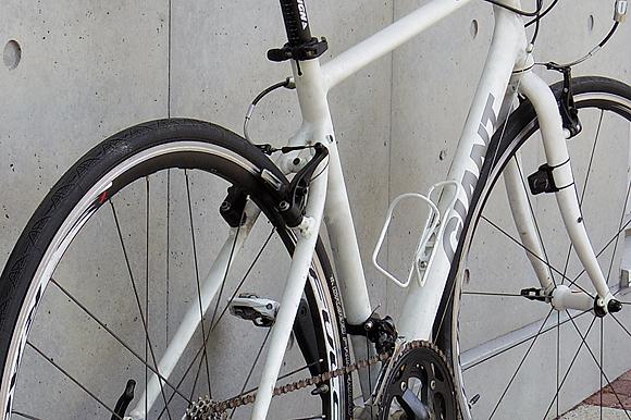 クロスバイクのESCAPE Airの雨風対策