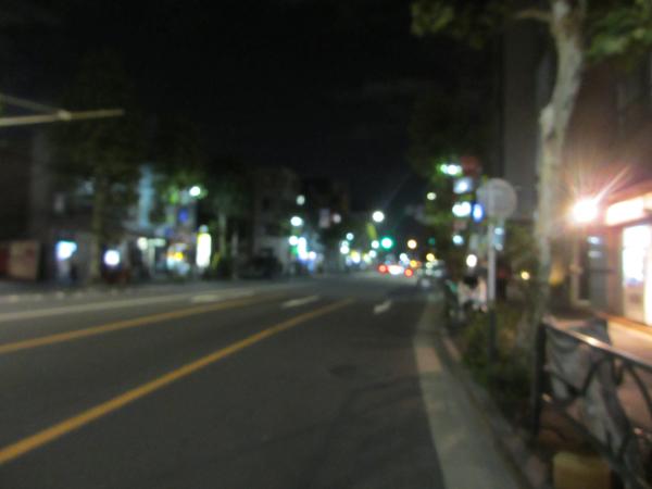 自転車の無灯火は見えない