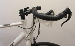 クロスバイクをブルホーン化する作業手順など