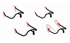クロスバイクをブルホーン化するために必要なパーツの種類