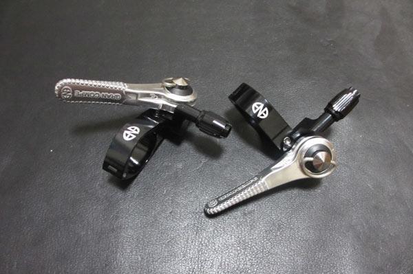 クロスバイクをブルホーン化するためのシフトレバーの種類