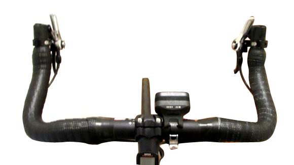 クロスバイクをブルホーン化してポジションチェンジ
