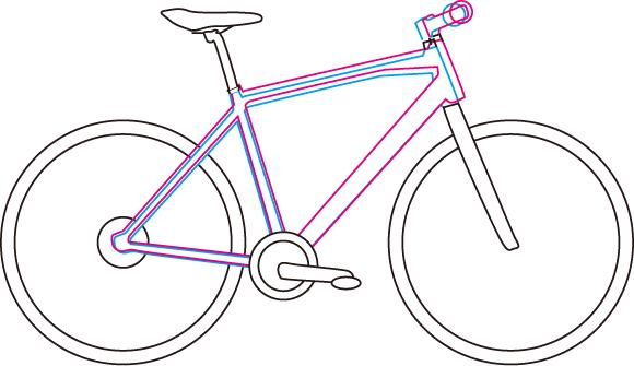 自転車を買う時は小さいフレームを選ぶと良い