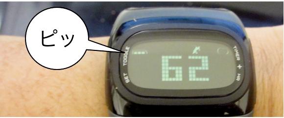 自転車の 自転車 心拍数 時計 : ... 心拍数の状態を教えてくれます
