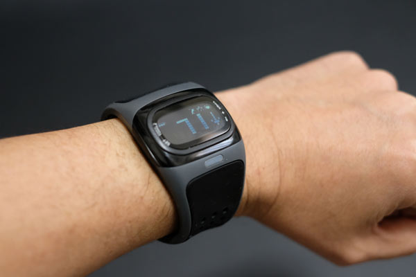 心拍計付きスポーツ時計mio ALPHA 2は楽しい