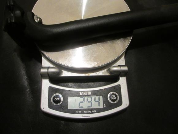 シートポストの重量比較