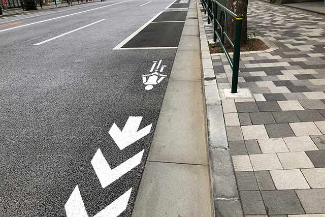 自転車推奨ルート整備で便利になる?