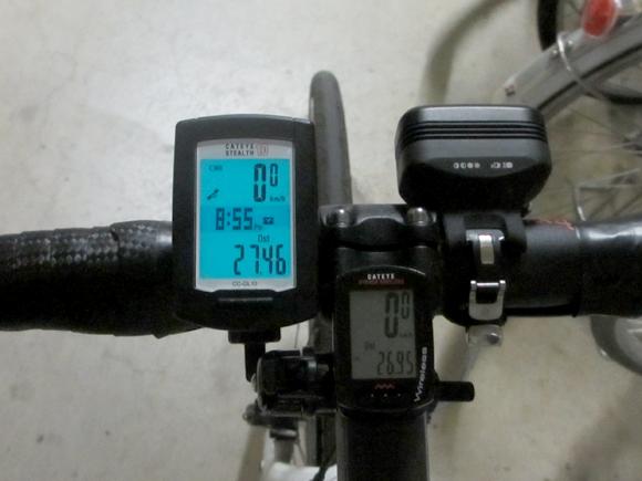GPSサイクルコンピューター比較データ