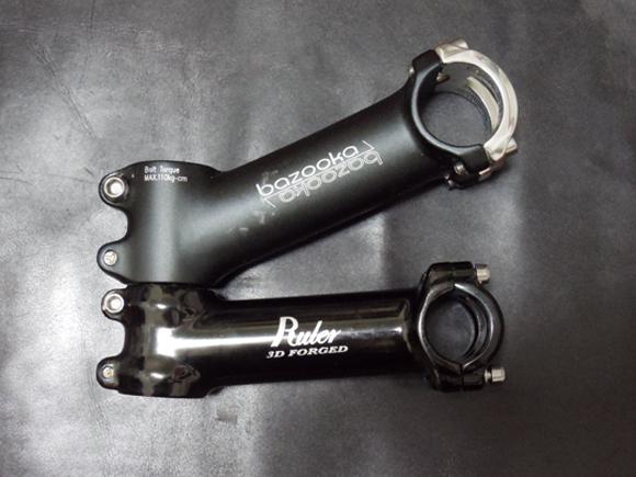ロスバイクやロードバイクに取り付けるステムの角度はアングル