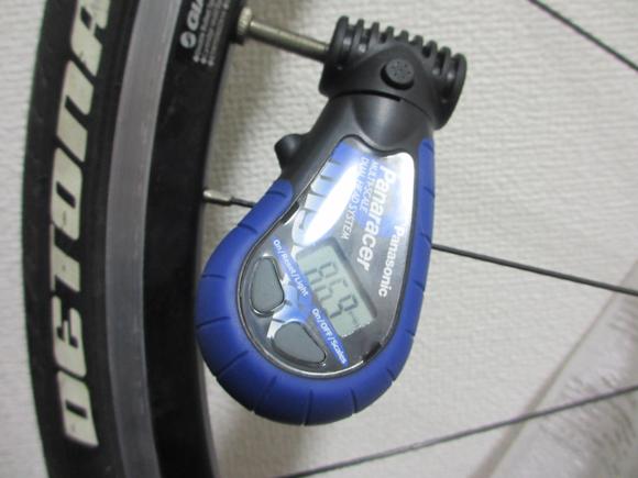 自転車空気圧計 デジタル