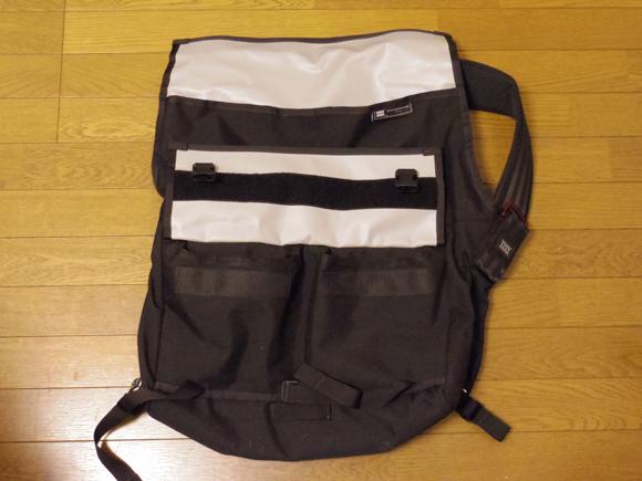 messenger bag メッセンジャーバッグのポケット