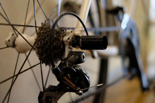 買ったばかりのクロスバイクのシフトチェンジの調子が悪くなった