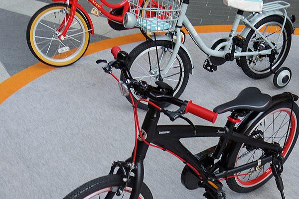 4歳に相応しい自転車のサイズ
