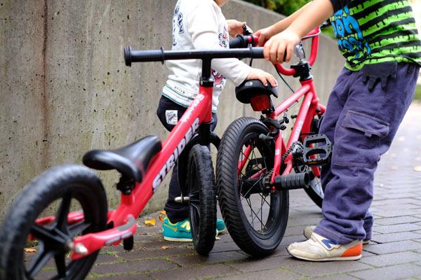 僕が欲しいと思う4歳用の自転車