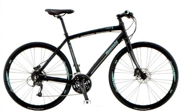 クロスバイク bianchi