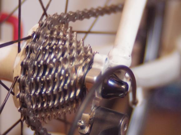 クロスバイクを11速化調整