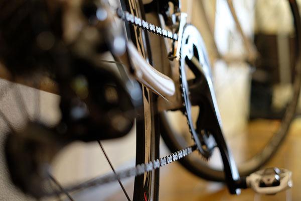 本格的なロードバイクやクロスバイクのコンポーネント