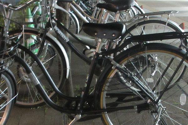 シティサイクルの場合の盗難対策