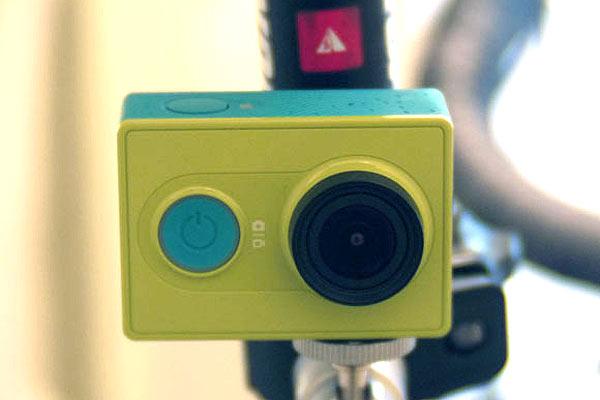 アクションカメラのxiaomi Yiで撮影した結果