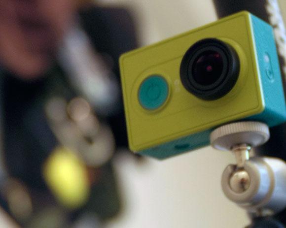 アクションカメラをシートポストに取り付ける