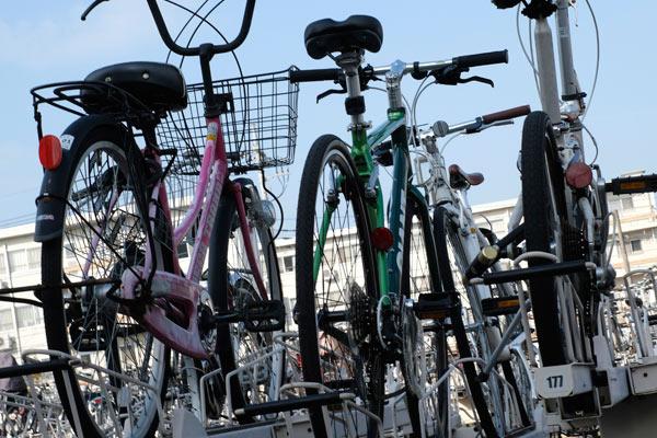 自転車を地球ロックして良い場所駐輪場
