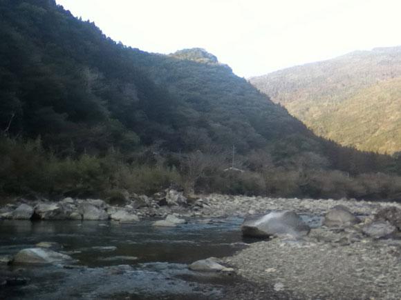 北川村の山の景色