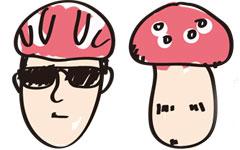 自転車でもヘルメット着用!だけどキノコ頭になりたくない人へ
