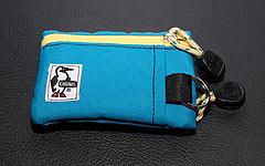 自転車用の小さい財布はCHUMSのエコキーコインケースが良い