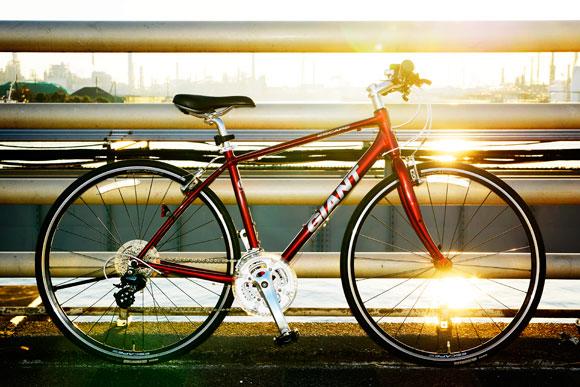 自転車カッコ良く撮影する方法