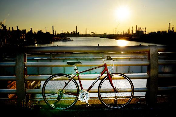 カッコいい自転車写真例