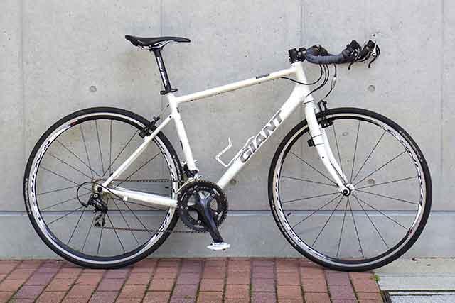 自転車写真の基本は横向き真正面