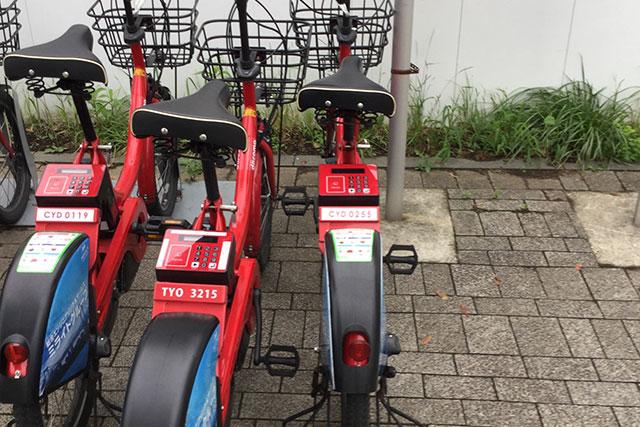日本の自転車シェアリングの先駆けはNTTドコモ