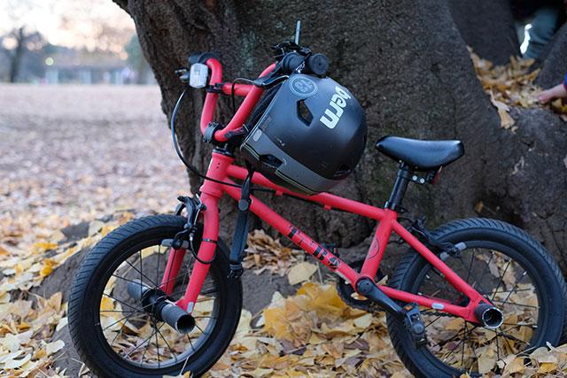 児童と幼児の自転車乗車時のヘルメット着用は努力義務