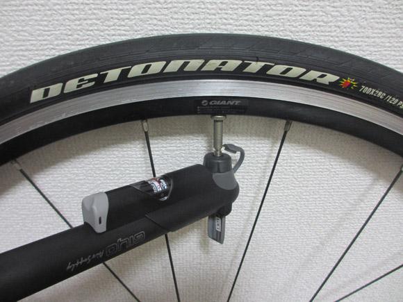3Cなど細いタイヤでパンクしないように気をつけること