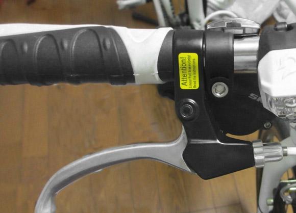 クロスバイクのグリップを換装