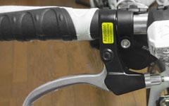 クロスバイクのフラットバーのグリップの交換方法