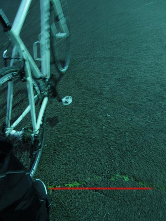 クロスバイクのVブレーキテスト