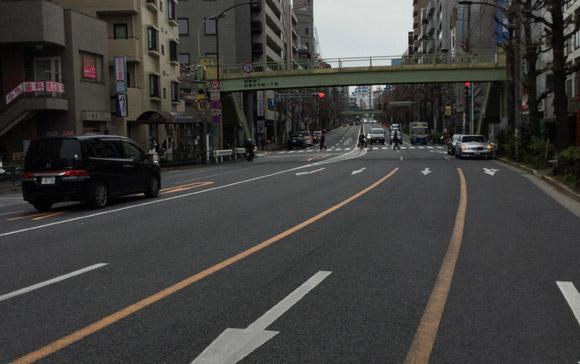 東京の自転車事情:坂道が少ない