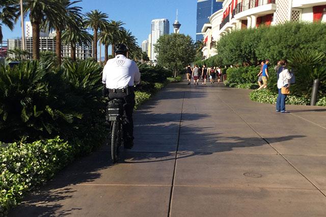 ラスベガスの自転車はマウンテンバイクが多い