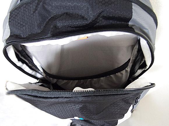 Deuter Race EXP Airのメインポケット