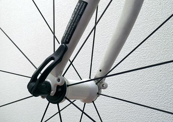 クロスバイクやロードバイクのクイックリリースの換装