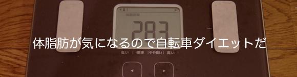 サイクリストと体脂肪率やBMIとダイエット