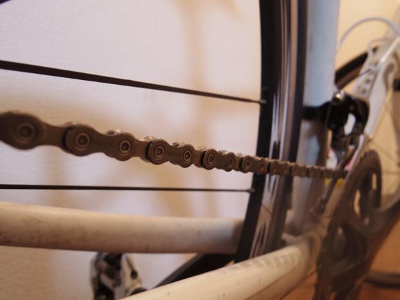 自転車のチェーン周りなどの洗浄に使用するクリーナー
