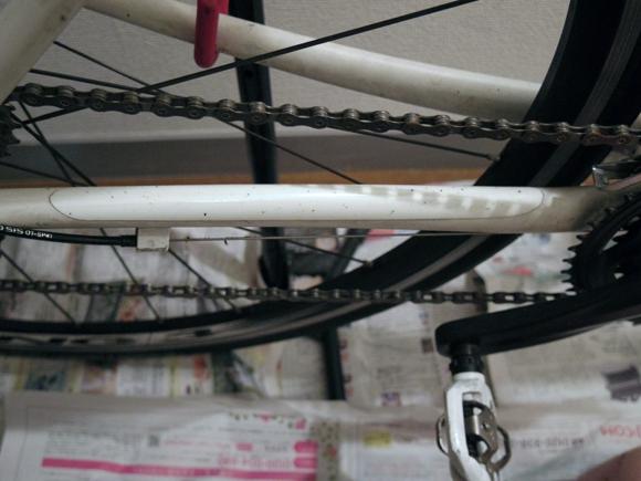 ロードバイクやクロスバイクのチェーンの清掃準備