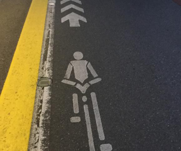 自転車ピクトグラムのルール