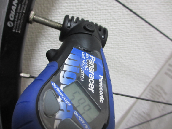 空気圧の管理方法 エアゲージ